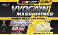Vyogain Mass Gain Powder Vanilla 2.2kg   Vyomax Nutrition